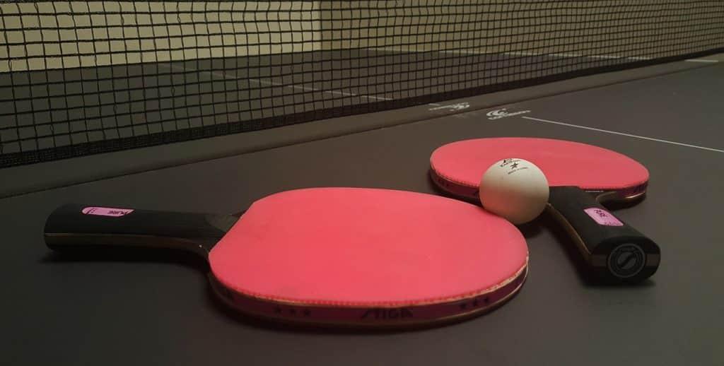 Tischtennis Schläger Test